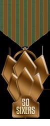 50 sixers bronze medal