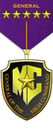 General High Comand Rank Medal