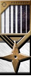 Assassin Medals bronze