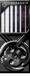 Assassin Medals onyx