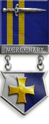 Mercenary gold medal