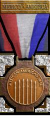 Mex Bronze Mexican-American War medal