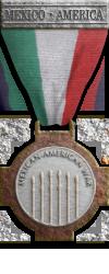 Mex Silver Mexican-American War medal