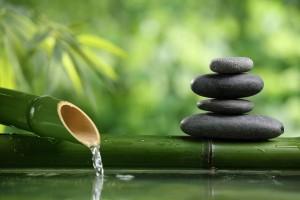 zen stone water relax