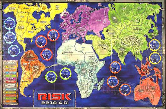 Risk 2210 AD Game Review   Risk 2210 AD Game Play