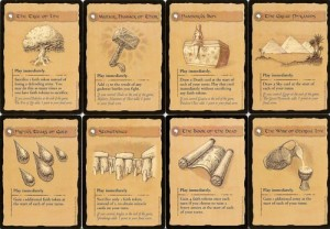 Risk Godstorm cards