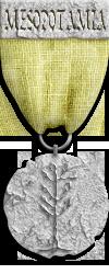 Mesopotamia Silver Risk Game Medal