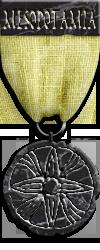 Mesopotamia Onyx Risk Game Medal