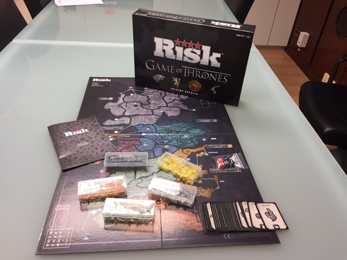 RISK Game of Thrones Set Cards